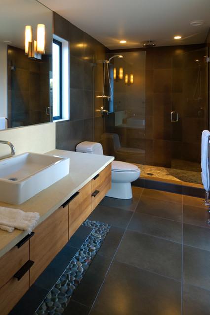 Nexthouse seattle wa david vandervort architects modern bathroom seattle by david Bathroom decor tiles edgewater wa