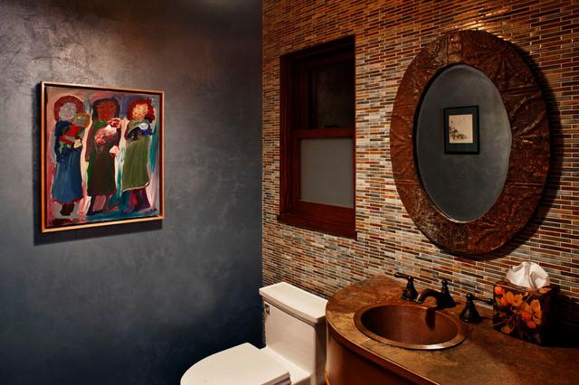 Nichols canyon tree house contemporary bathroom los angeles by linda brettler architect - Tree house bathroom ...