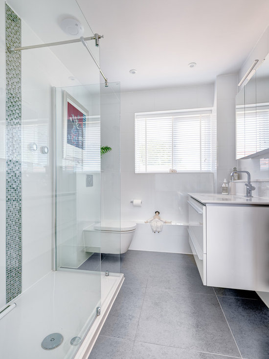 Small Floating Vanity Home Design Ideas, Pictures, Remodel and Decor