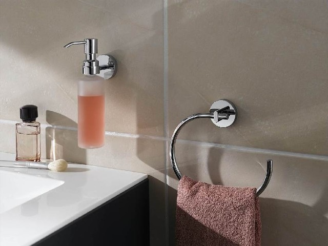 No drill Bath Towel Ring - Contemporary - Towel Rings - raleigh - by Innovative Product Sales ...