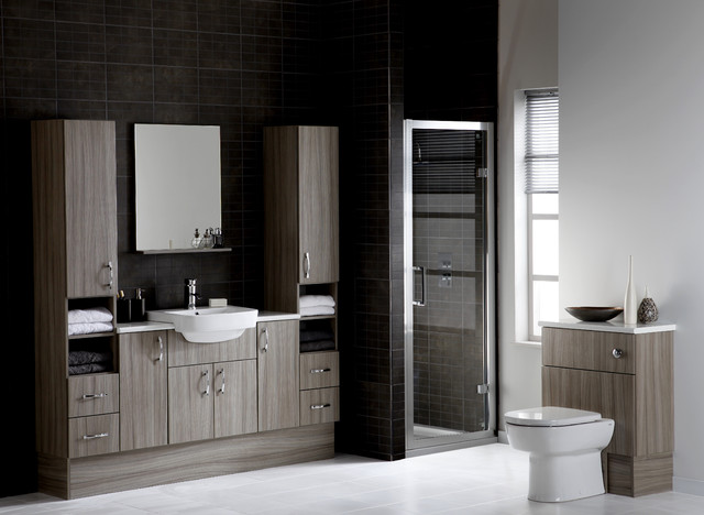 Bathrooms Uk : ... , Dueto - Contemporary - Bathroom - other metro - by UK Bathrooms