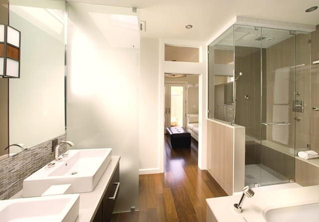 Noe Valley adition and remodel contemporary bathroom