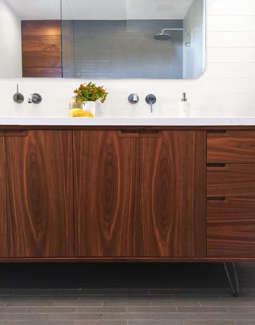 Noe Valley Danish Modern Contemporary Bathroom San Francisco By Regan Baker Design Inc