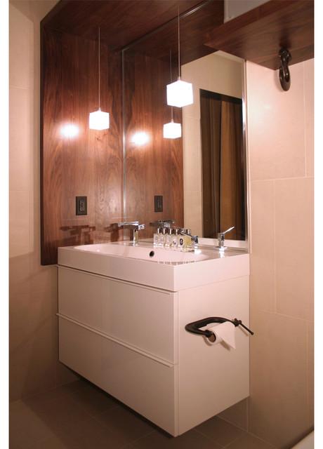 Nolo loft industrial bathroom minneapolis by for Economic bathroom designs