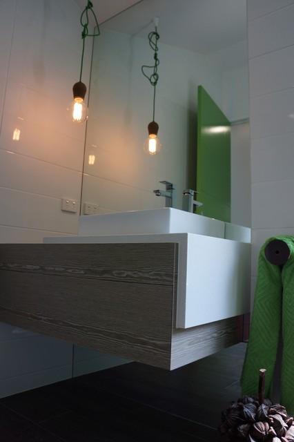 Norman park project contemporary bathroom brisbane for Bathroom interior design brisbane