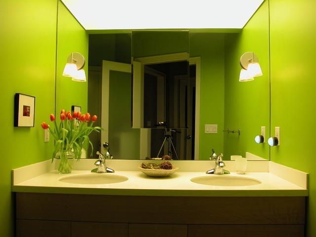 Norman Street, Marblehead contemporary-bathroom