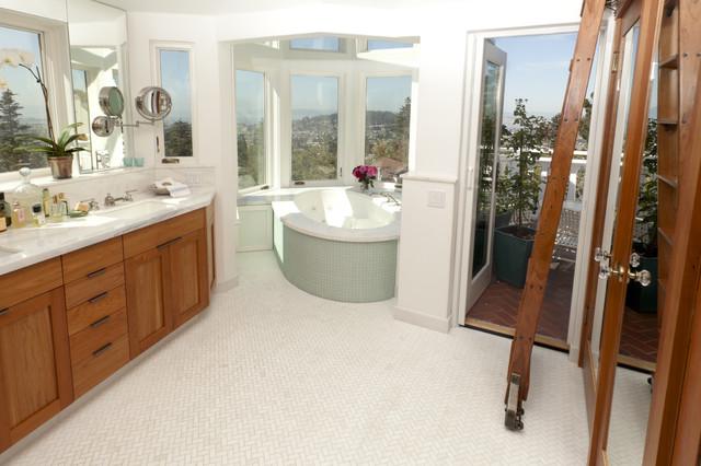 North Berkeley Hills Bathroom Remodel traditional-bathroom