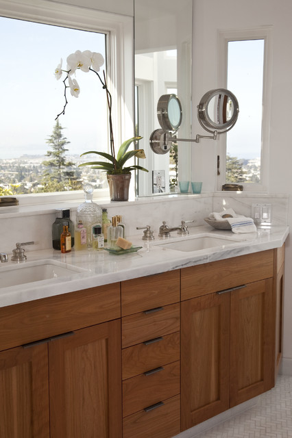 North Berkeley Hills Bathroom Remodel Traditional