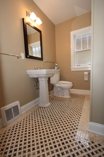 North california avenue bungalow bathroom remodel for Bungalow bathroom designs