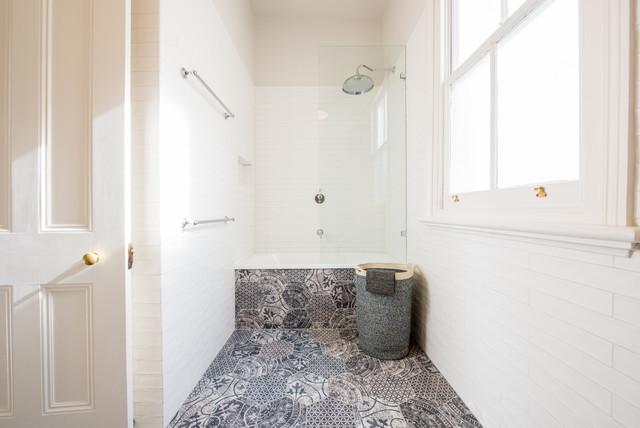 North Carlton Renovation Transitional Bathroom
