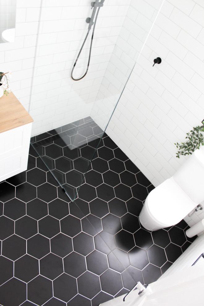 North Perth Bathroom Renovation Black