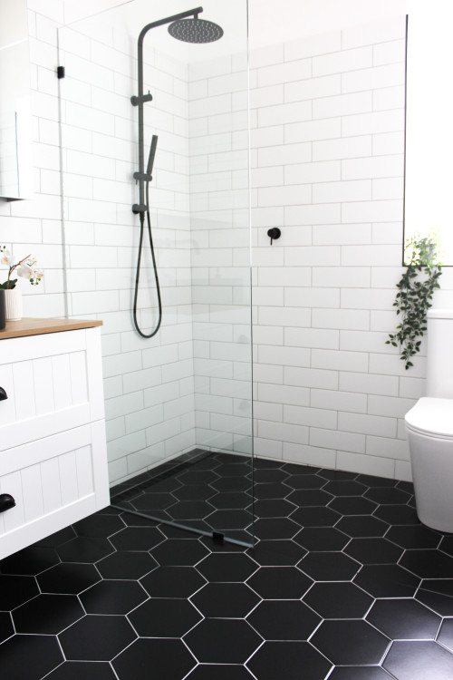 how to renovate a small bathroom and make it bigger