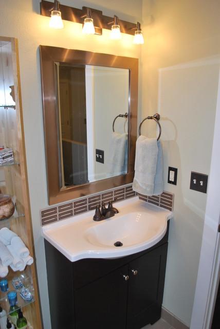 North portland master hall bath traditional bathroom for Portland baths