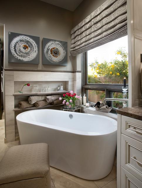North Scottsdale Home Contemporary Bathroom Phoenix By Debra May Himes Interior Design