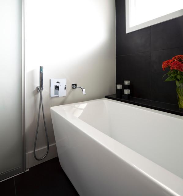 North Shore Condo contemporary-bathroom