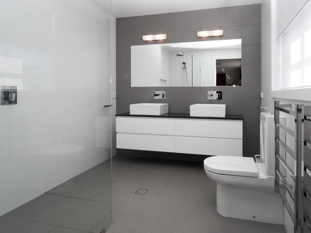 North Sydney Contemporary Bathroom Sydney By Hassle Free Bathrooms Pty Ltd