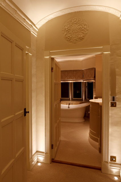 North Yorkshire Country House Contemporary Bathroom Other Metro By Brilliant Lighting