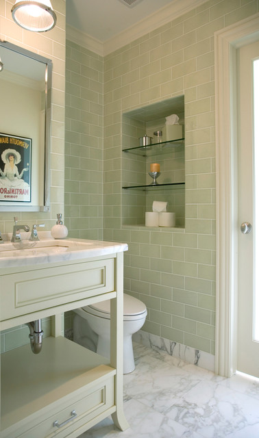Northbrook Residence contemporary-bathroom