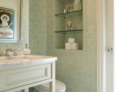 Northbrook Residence contemporary bathroom