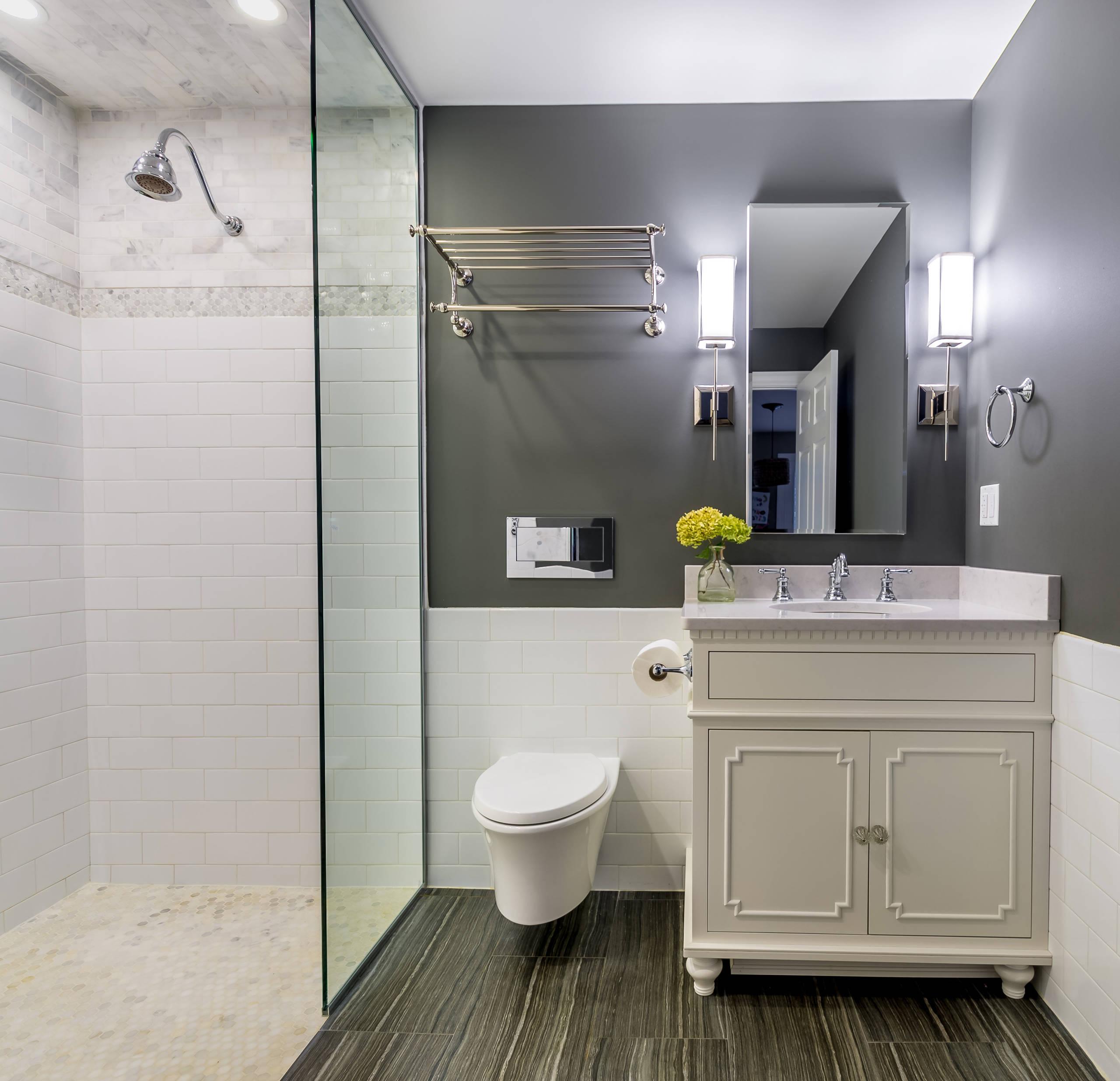 Sleek Accessible Bath