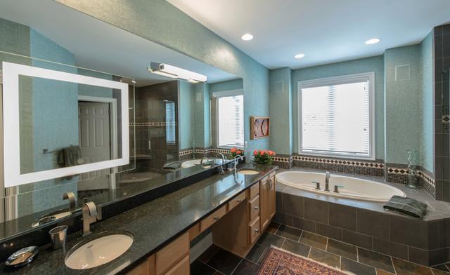 Northern Kentucky Bathroom Remodel Eclectic Bathroom