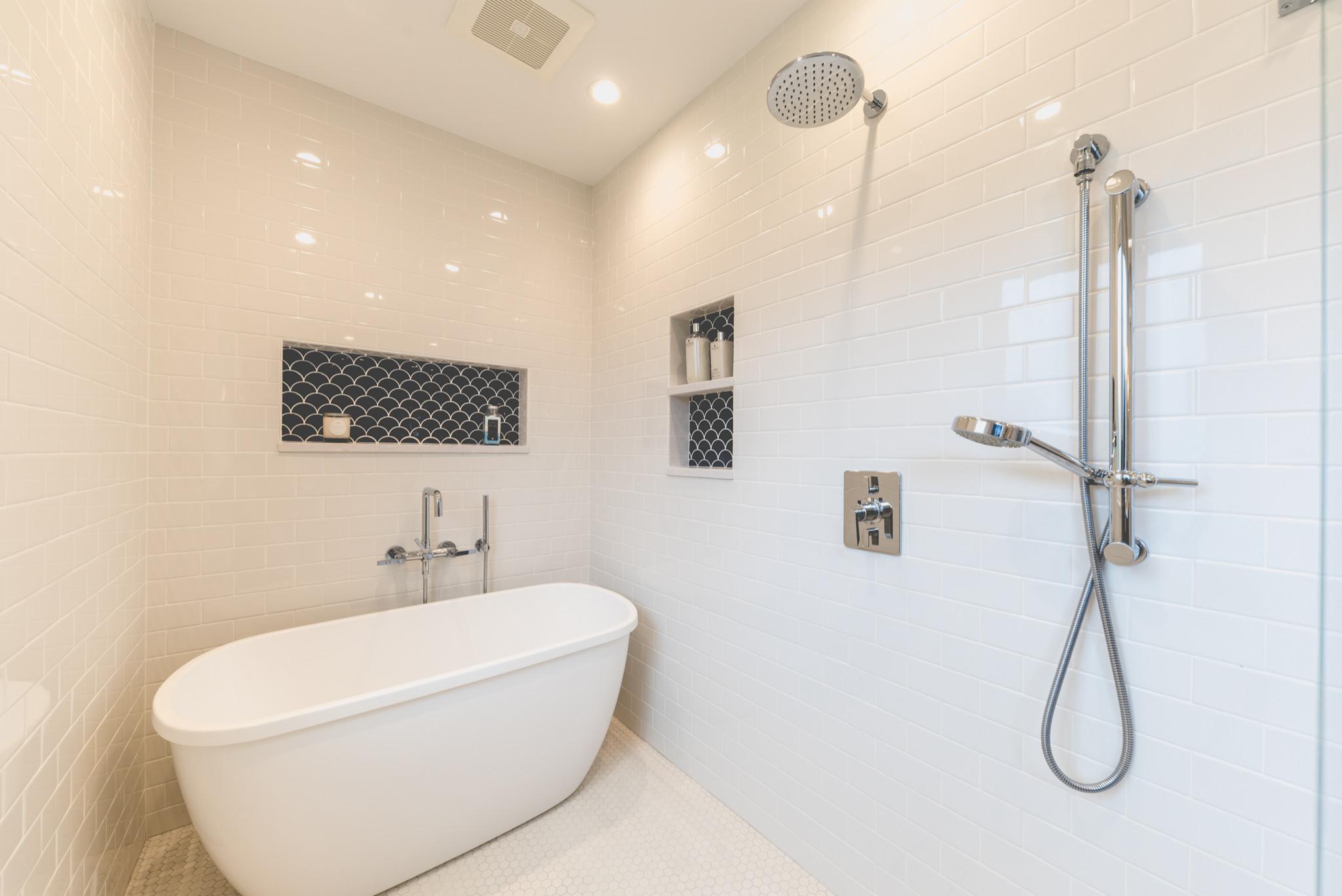Northfield Beautiful Blue ADA Bathroom