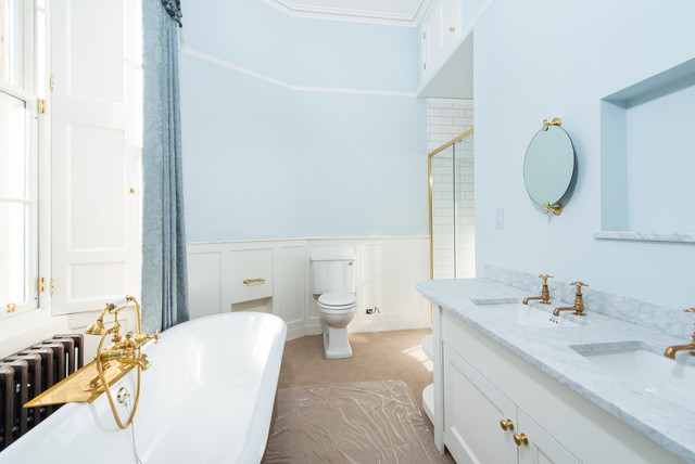 Northumberland Street Traditional Bathroom Scotland By Edinburgh Project Management