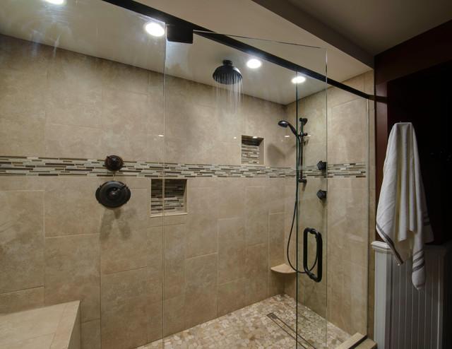 Northville Custom Bathroom traditional-bathroom