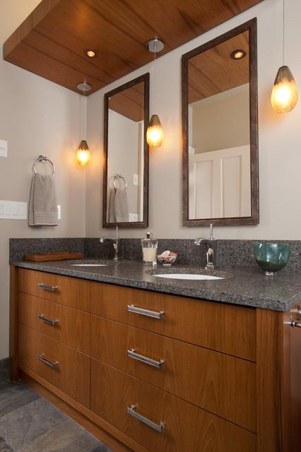 Northwest Guest Bath Renovation contemporary-bathroom