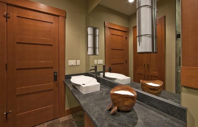 Northwest Guest Bathroom contemporary-bathroom
