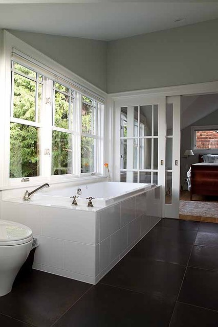 Norwood Residence traditional bathroom