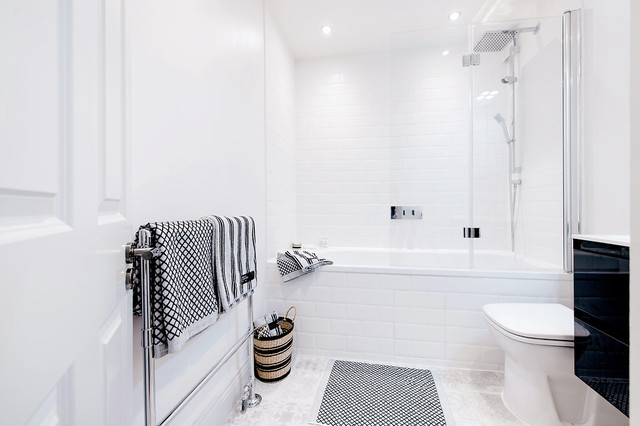 . 15 Ways to Make Your Over Bath Shower Look Beautiful