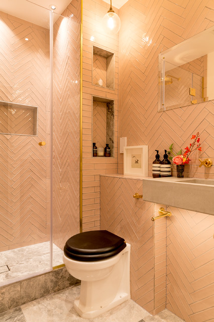 Notting Hill Townhouse Eclectic Bathroom London By