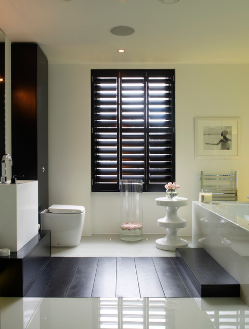 Notting hill townhouse for Bathroom interior design london
