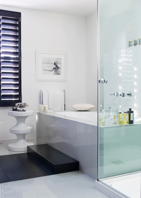 Notting hill townhouse for Townhouse bathroom designs