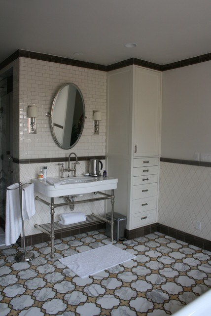 Nottingham Traditional Bathroom Los Angeles By Jessica L Leivo