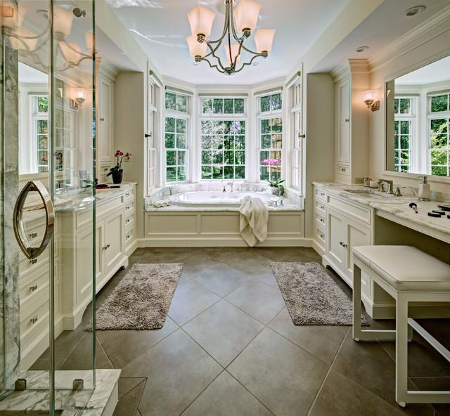 Noyes Master Bath Traditional Bathroom New York By J Kennedy Design