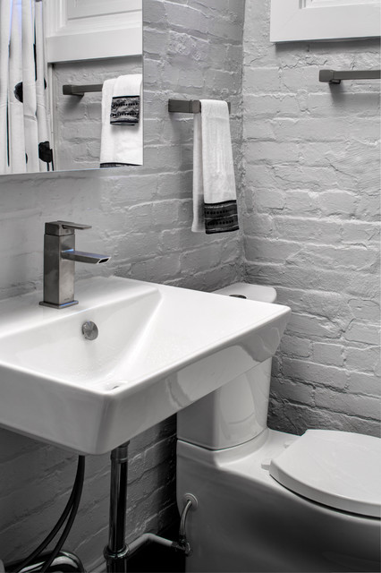 NW DC Basement Bath contemporary-bathroom