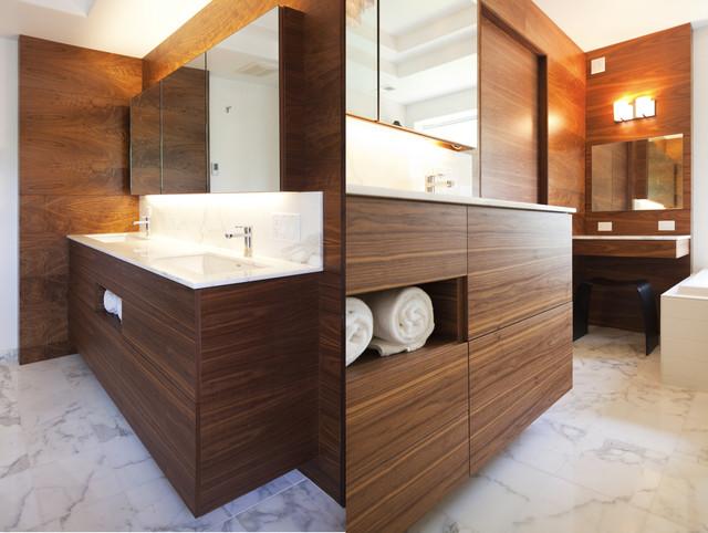 NW HOMES contemporary-bathroom