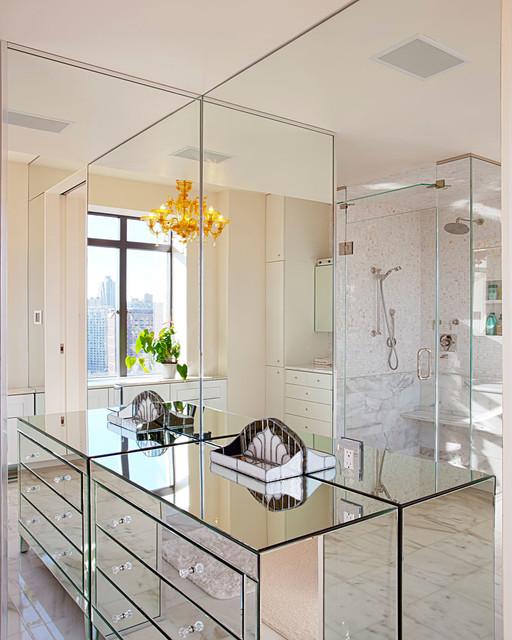 stora speglar utan ram