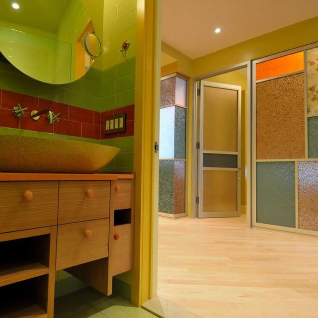 NYC Film Studio Contemporary Bathroom
