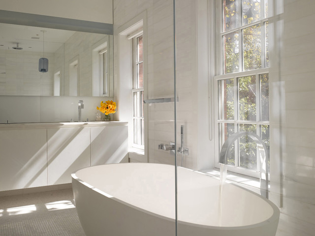 NYC Townhouse contemporary-bathroom