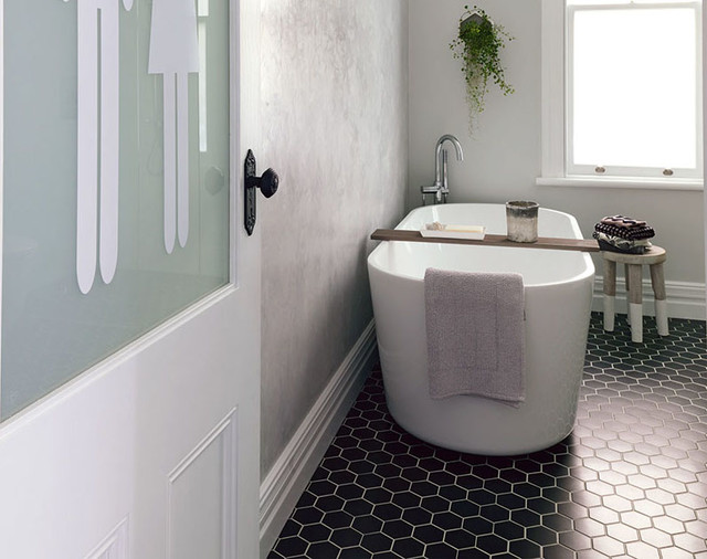 Bathroom Tiles Nz nz house & garden interior of the year - bathroom - auckland -