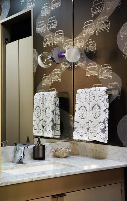 O'Neil Ford Re-Build midcentury-bathroom