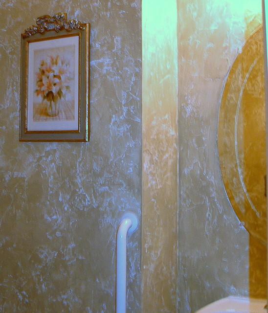 O 39 Villa Plaster Mediterranean Bathroom Other Metro