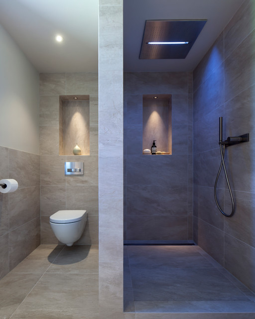 Oak Barn Wet Room - Contemporary - Bathroom - Other - by Janey Butler ...