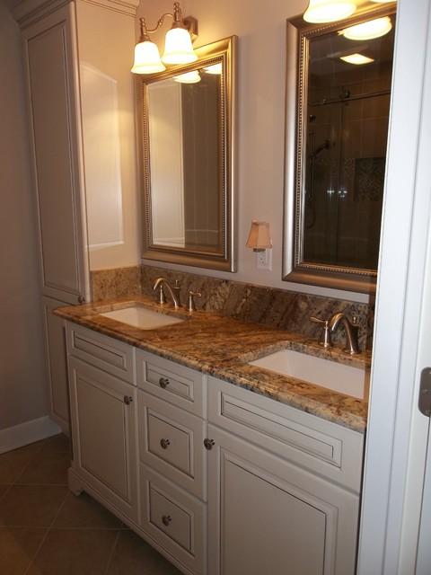 Oakland Master Bath - Traditional - Bathroom - New York ...