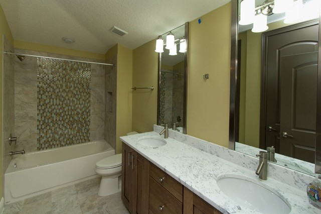 Oakland Park Modern Bathroom Orlando By J J Building