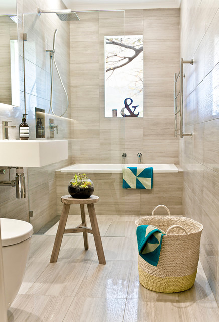 Oakleigh renovation traditional bathroom melbourne by gia bathroom kitchen renovations - Bathroom accessories melbourne ...