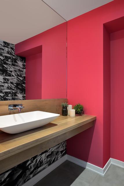 Oakville Contemporary Bathroom Toronto By Upside